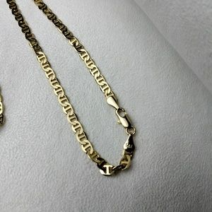 New 14k Gold Plated Necklace Chain